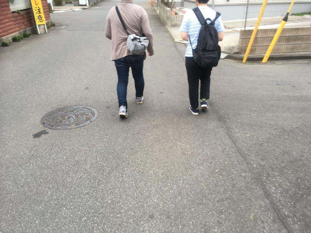 ゆっくり歩こう